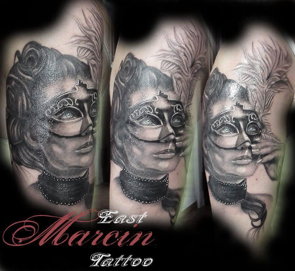 Marcin East tattoo realistic tattoo