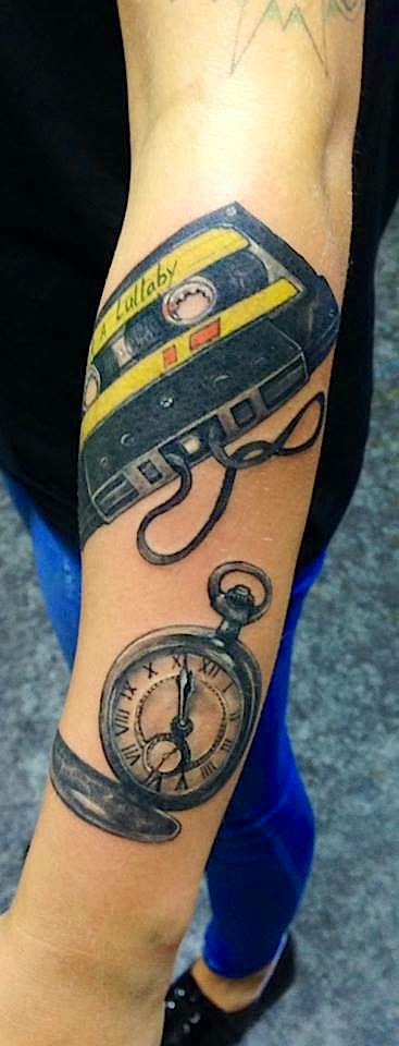 HP Nguyen tattoo Art of Ink tape watch