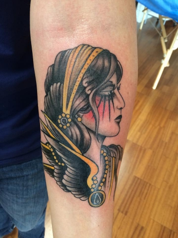 Jacob Ritter My Queen Tattoo