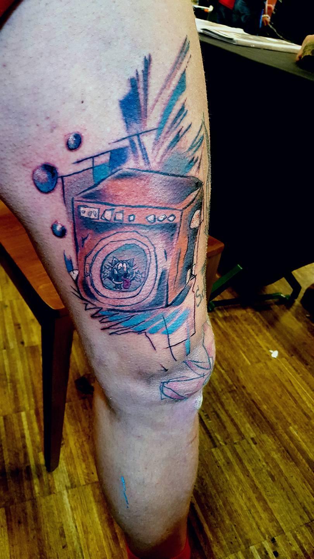 Marco Ventura tattoo