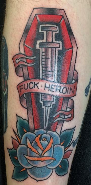 Dave Woodard tattoo