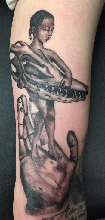 Chip Baskin tattoo