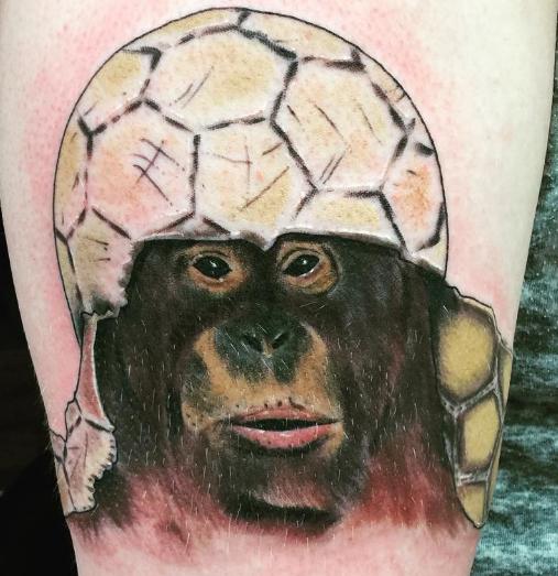 Chip Baskin monkey