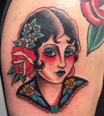 Andy Perez tattoo