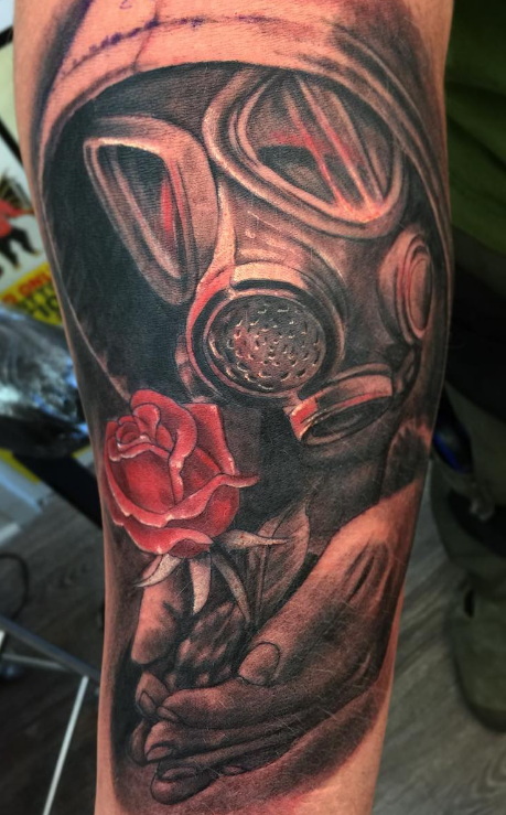 Mason Atlas Tattoo