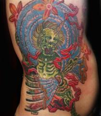 Clayton James tattoo