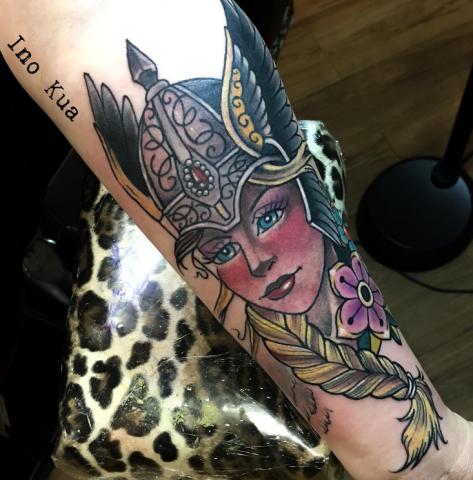 Buffy Ino Kua tattoo valkyria