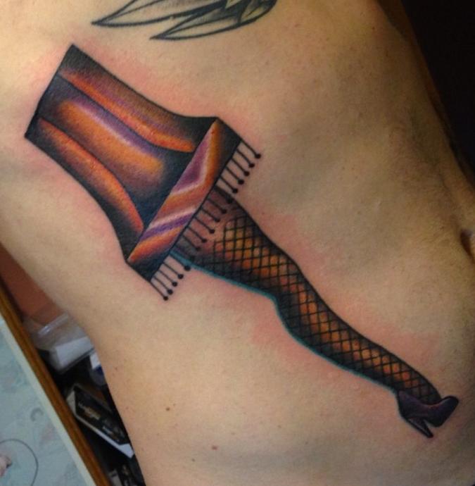 Buffy Ino Kua tattoo