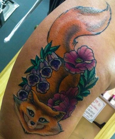 Buffy Ino Kua tattoo fox new school