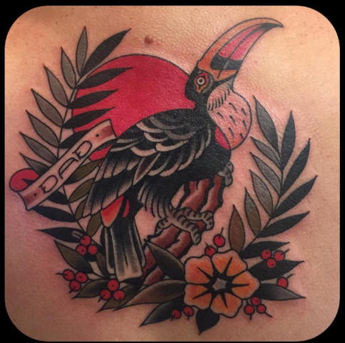 Ben Cheese Ltd Tattoo bird tucan
