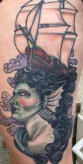 Guy Ursitti  tattoo
