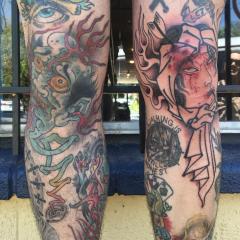 Dave Regan tattoo oriental