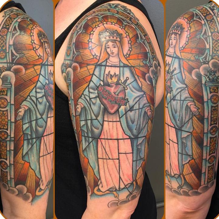 Dave Regan tattoo religion