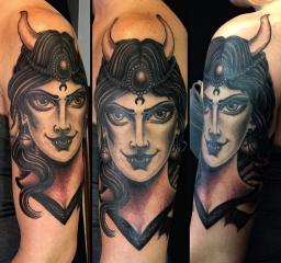 Dave Regan tattoo vampire