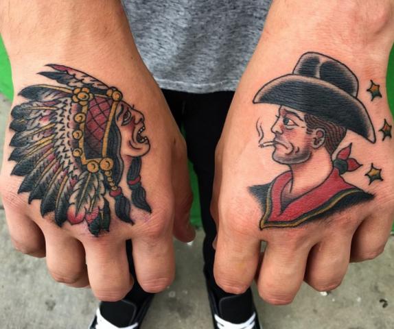 Dave Regan tattoo old school