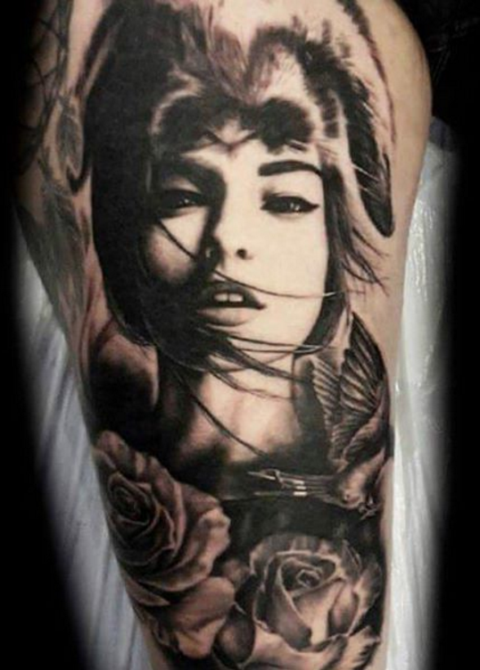 Simon Brandt Tattoo Art of Ink