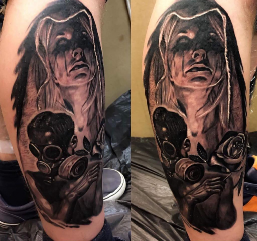 Cem Vikink tattoo