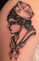 Gary Royal Idle Hand Tattoo
