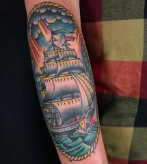 Ross Jones Idle Hand Tattoo