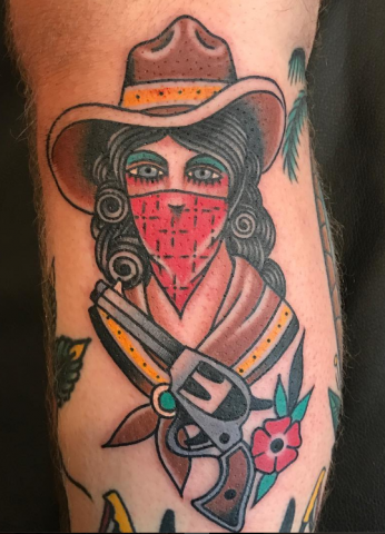 Ross Jones Idle Hand Tattoo