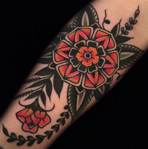 Austin Maples Idle Hand Tattoo