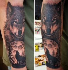 Jeppe Isbak Color Perception Tattoo