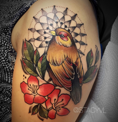 Stacy Color Perception tattoo