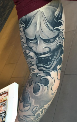 Christoffer Brix tattoo