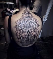Stacy Color Perception tattoo mandala