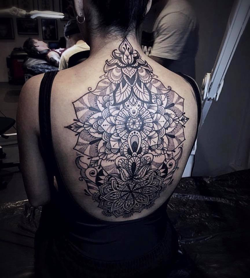 Stacy Color Perception tattoo mandala