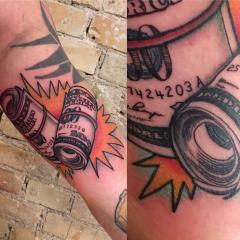 Jacob The Boulevard Social Club tattoo