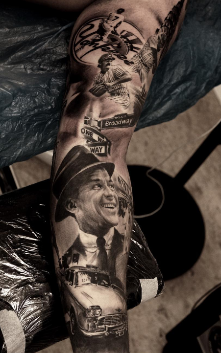 Pedro Leon Studio 73 Tattoo black n grey realism