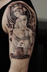 Jerre Tattoo Studio 73 black n grey realism