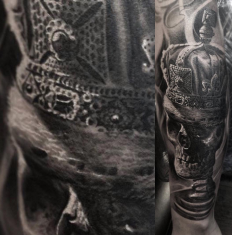 Jerre Tattoo Studio 73 black n grey realism