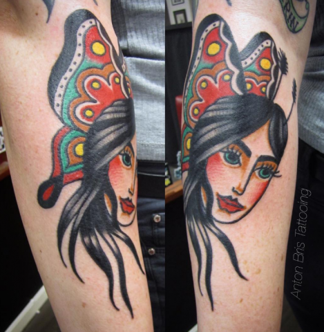 Anton Bris Tattoo Ink Art