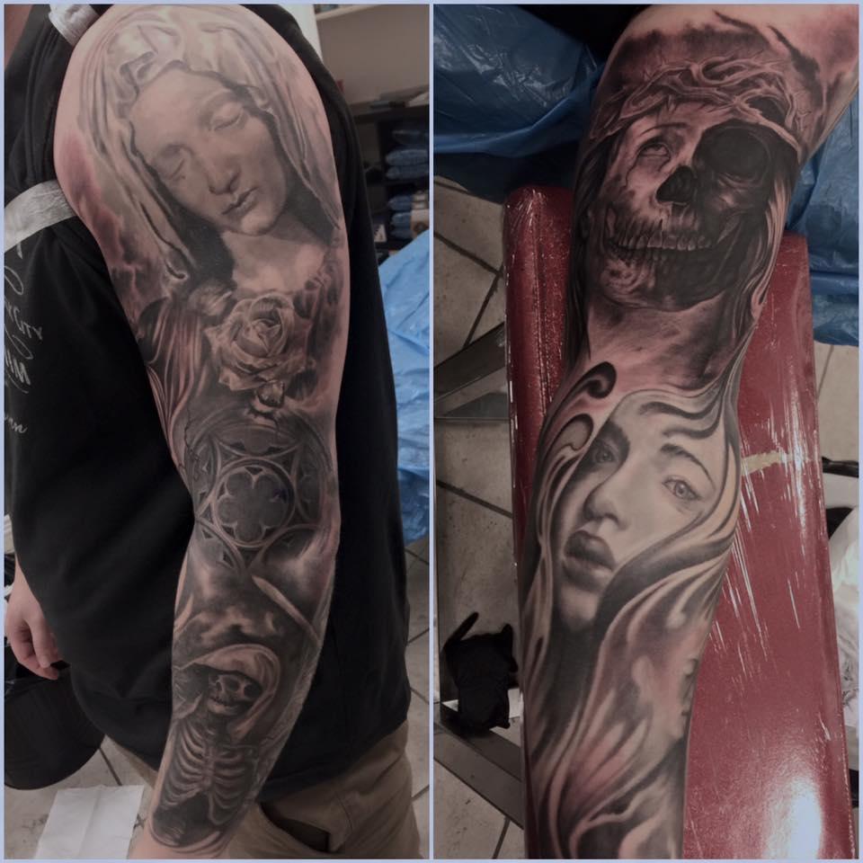 Kingpin Tattoo: Quincy HawkKingpin Tattoo