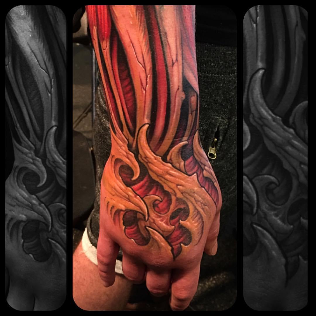 Corpsepainter tattoo