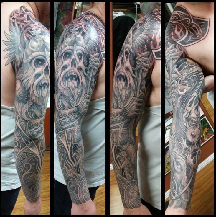 Kevin Johnson Heavy Horse Tattoo