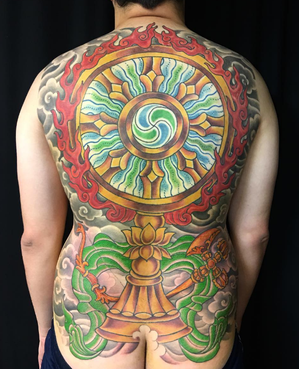 Scott Ellis Tattoo